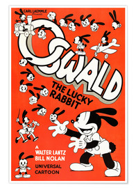 Póster  Oswald the Lucky Rabbit
