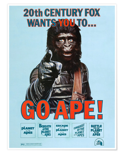 Póster Planet of the Apes