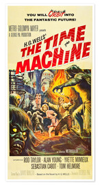 Póster THE TIME MACHINE, Yvette Mimieux, Rod Taylor