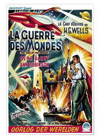 Póster THE WAR OF THE WORLDS 1953