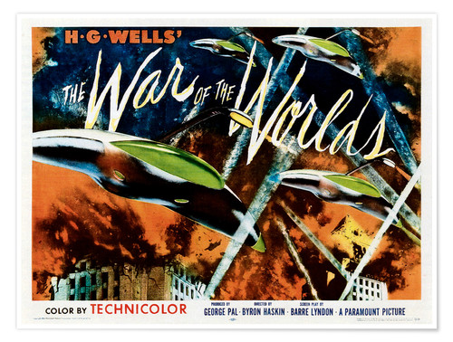 Póster The War of the Worlds