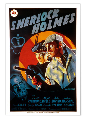 Póster The Adventures of Sherlock Holmes
