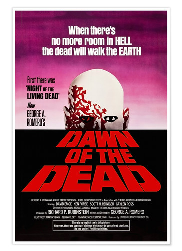 Póster Dawn of the Dead