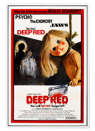 Póster  Deep Red