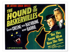 Póster The Hound of the Baskervilles