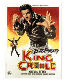 Póster  King Creole