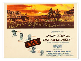 Póster The Searchers
