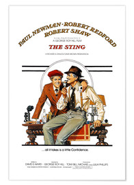 Póster  The Sting