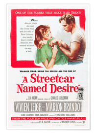 Póster  A Streetcar Named Desire
