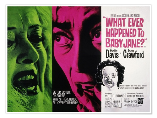 Póster What Ever Happened to Baby Jane?