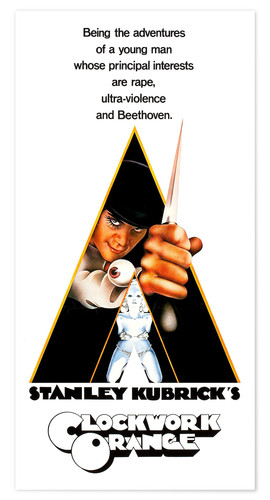 Póster A Clockwork Orange
