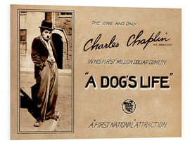 Forex  A Dogs Life, Charlie Chaplin poster Photo 1918