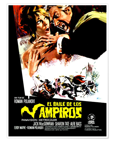 Póster Dance of the Vampires