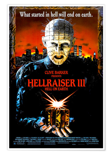 Póster Hellraiser III: Hell on Earth