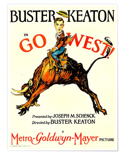 Póster Go West