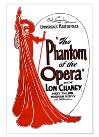 Póster  The Phantom of the Opera