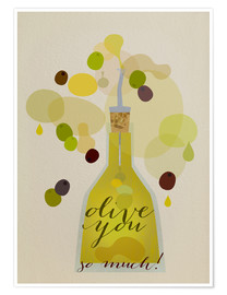 Póster Olive you so much