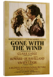 Cuadro de madera  Gone With The Wind - Margaret Mitchell