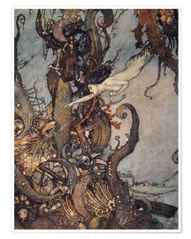 Póster  Andersen: Little Mermaid - Edmund Dulac