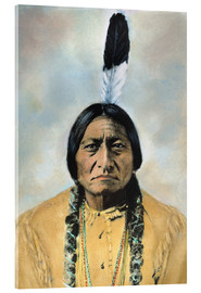 Cuadro de metacrilato  Sitting Bull - David F. Barry