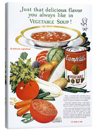 Lienzo  Campbell Soup