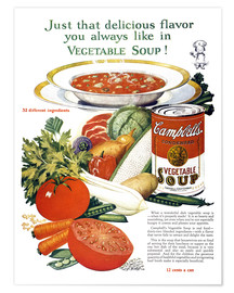 Póster  Campbell Soup