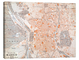 Lienzo  Madrid, 1920