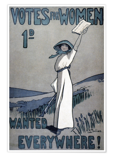 Póster Women's Rights