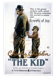 Póster Chaplin: The Kid, 1920