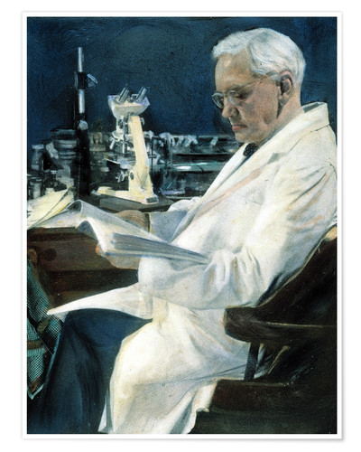 Póster Sir Alexander Fleming