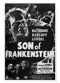 Póster Son Of Frankenstein