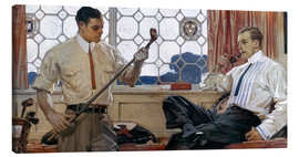 Lienzo  Men's Fashion 1914 - Joseph Christian Leyendecker