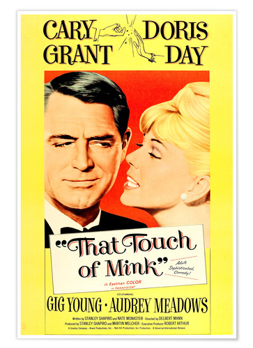 Póster THAT TOUCH OF MINK, 1962