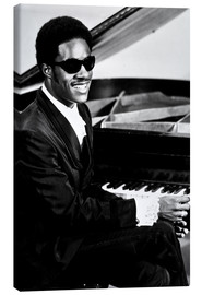 Lienzo  Stevie Wonder en el piano