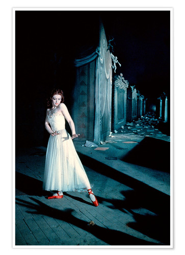 Póster The Red Shoes, Moira Shearer