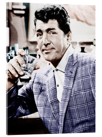 Metacrilato  Dean Martin in a plaid jacket
