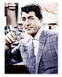 Póster  Dean Martin in a plaid jacket