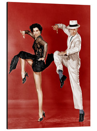 Cuadro de aluminio  THE BAND WAGON, from left: Cyd Charisse, Fred Astaire, 1953