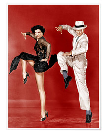 Póster  THE BAND WAGON, from left: Cyd Charisse, Fred Astaire, 1953
