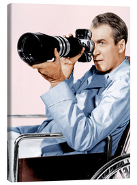 Lienzo  REAR WINDOW, James Stewart, 1954