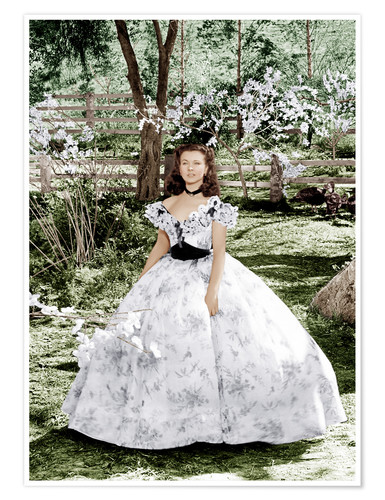 Póster Gone with the Wind, Vivien Leigh, 1939