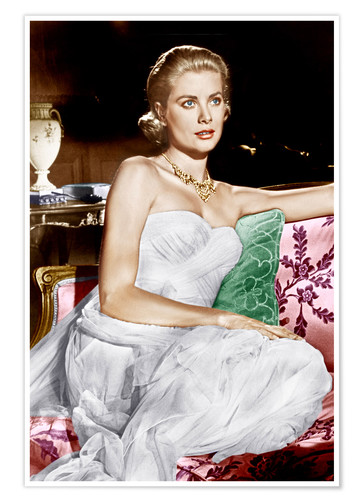 Póster To Catch a Thief, Grace Kelly, 1955