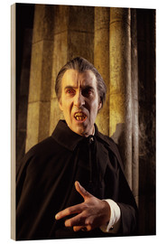 Cuadro de madera  Taste the Blood of Dracula ?, Christopher Lee, 1970