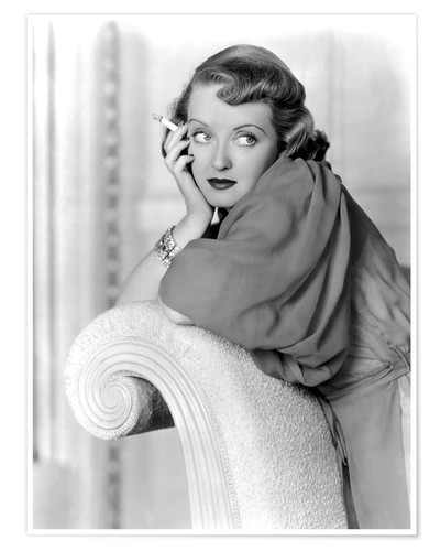 Póster MARKED WOMAN, Bette Davis