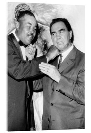 Cuadro de metacrilato  Max Schmeling and Joe Louis