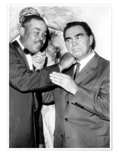 Póster Max Schmeling and Joe Louis