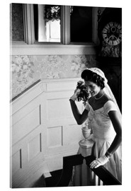Cuadro de metacrilato  Jackie Kennedy at her wedding