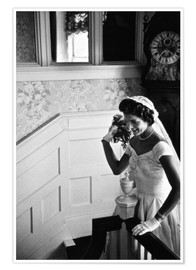Póster Jackie Kennedy at her wedding