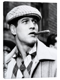 Lienzo  SOMEBODY UP THERE LIKES ME, Paul Newman