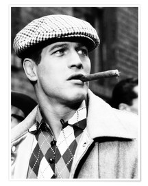 Póster  SOMEBODY UP THERE LIKES ME, Paul Newman